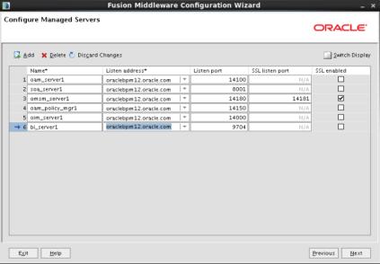 Configuring IAM Domain (11)