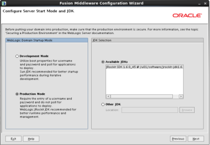 Configuring IAM Domain (6)