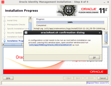 Installing OID (16)