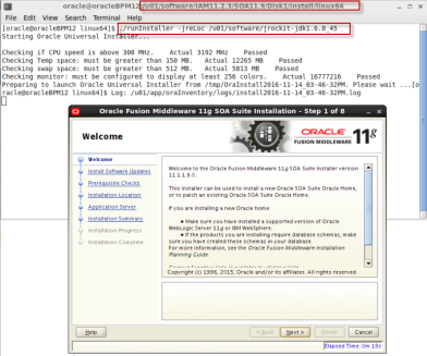 installing Oracle SOA 11g Software (1)