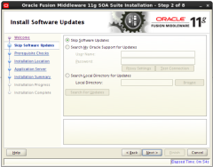 installing Oracle SOA 11g Software (2)