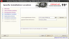 installing Oracle SOA 11g Software (3)