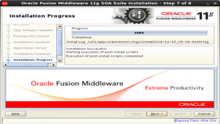 installing Oracle SOA 11g Software (6)