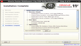installing Oracle SOA 11g Software (7)