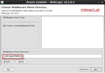 Installing Weblogic (3)