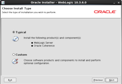 Installing Weblogic (6)